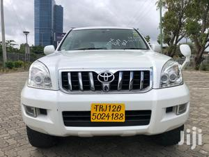 New Toyota Land Cruiser Prado 2005 White | Cars for sale in Dar es Salaam, Kinondoni
