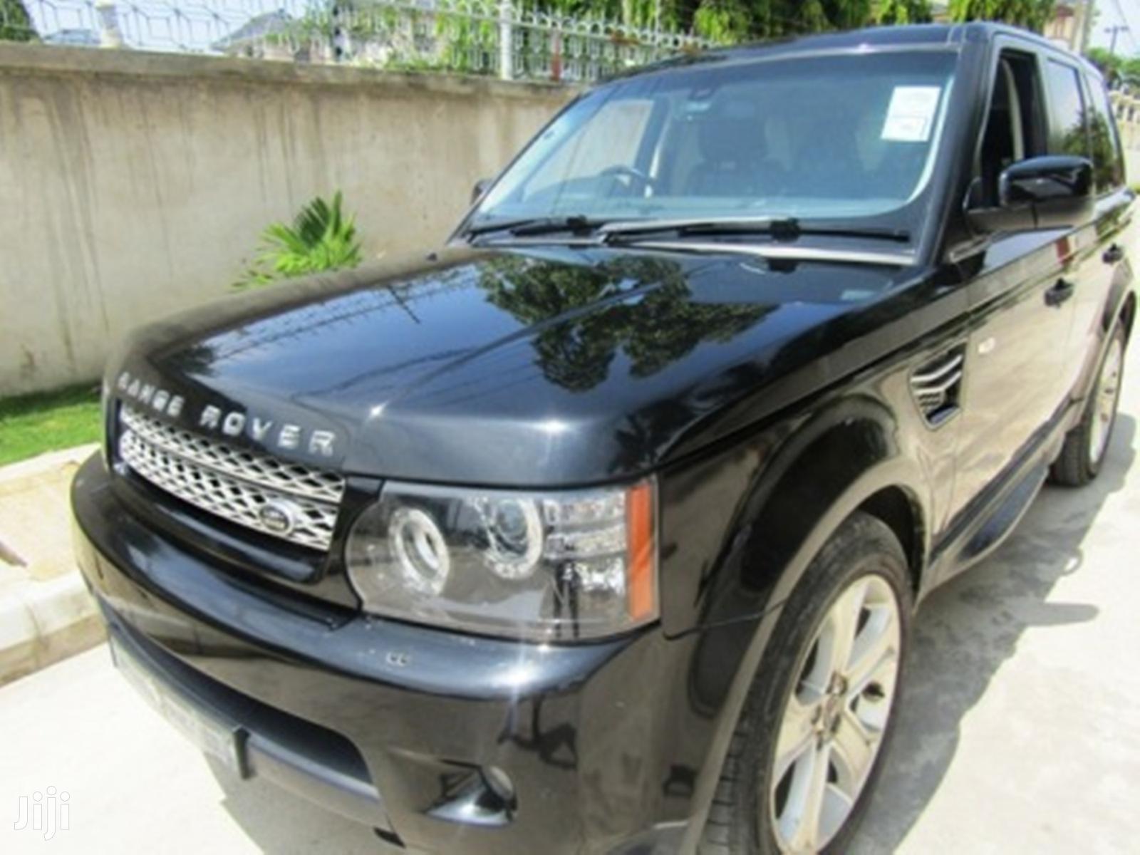 Land Rover Range Rover Sport 2013 Black