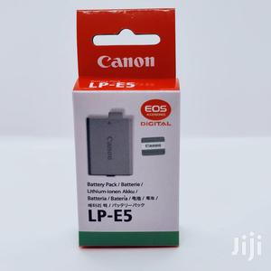Canon LP-E5 Lithium-ion Battery Pack (7.4V, 1080mah)   Accessories & Supplies for Electronics for sale in Dar es Salaam, Kinondoni