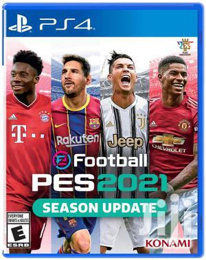 Efootball PES 2021 Season Update - Playstation 4 | Video Games for sale in Dar es Salaam, Ilala