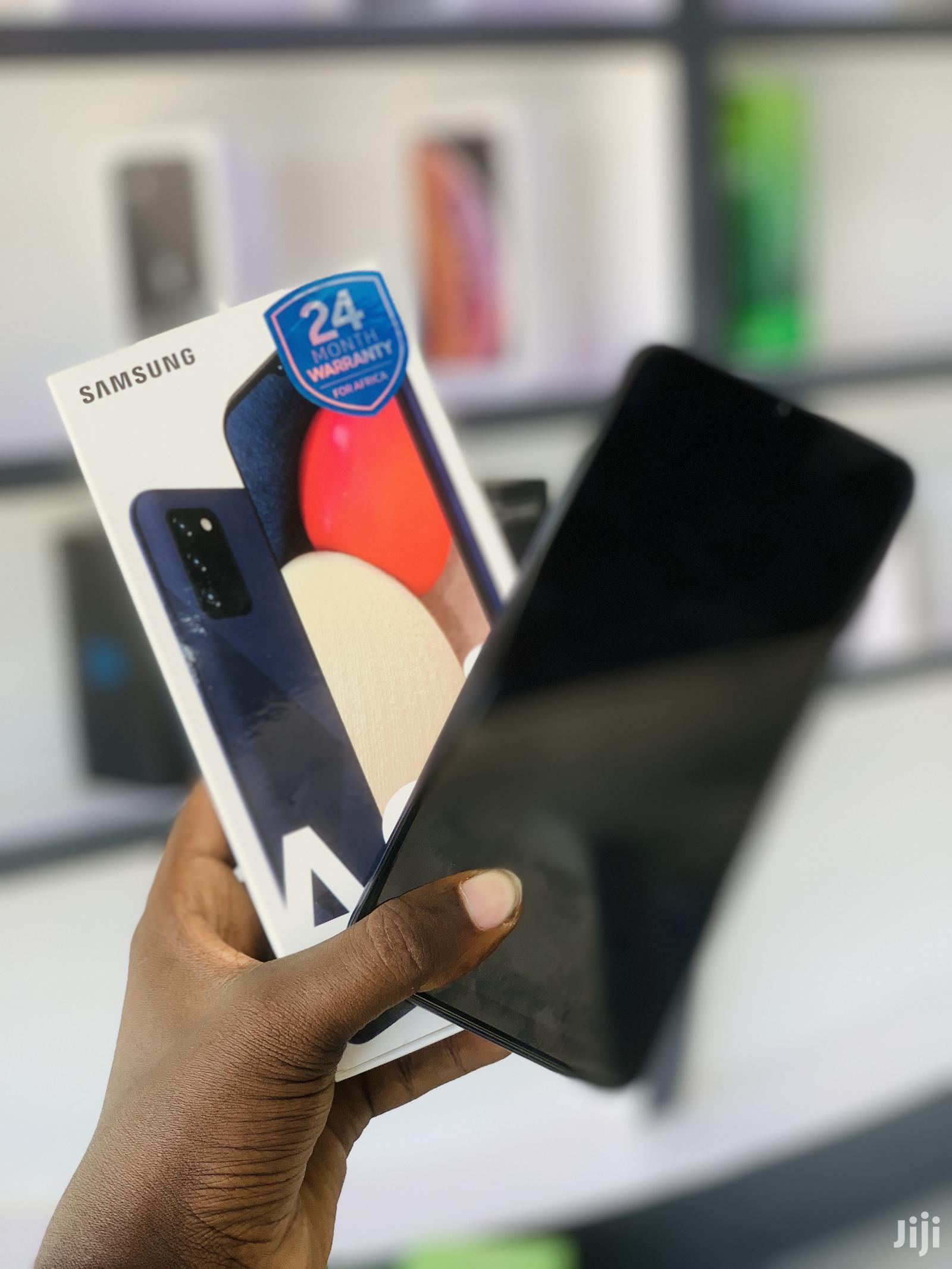 New Samsung Galaxy A02S 32 GB Black   Mobile Phones for sale in Kinondoni, Dar es Salaam, Tanzania
