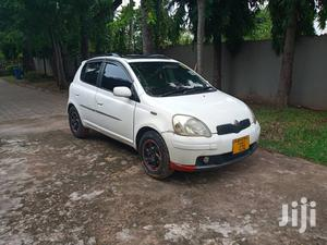 Toyota Vitz 2004 White   Cars for sale in Dar es Salaam, Kinondoni