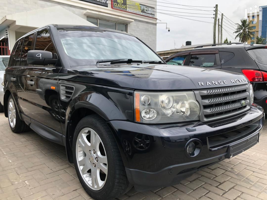 Land Rover Range Rover Sport 2006 Black | Cars for sale in Kinondoni, Dar es Salaam, Tanzania