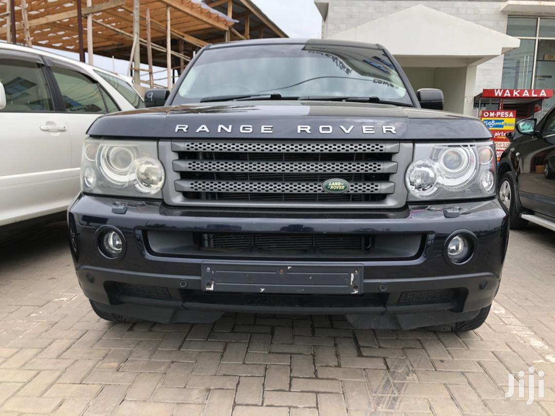 Land Rover Range Rover Sport 2006 Black