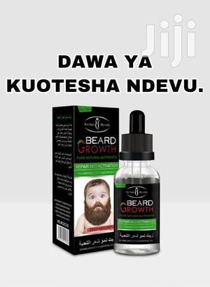 Dawa Ya Kuotesha Ndevu Beard Growth   Hair Beauty for sale in Dar es Salaam, Kinondoni