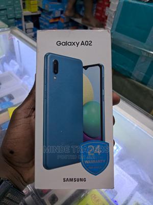 New Samsung Galaxy A02 32 GB Blue   Mobile Phones for sale in Dar es Salaam, Ilala