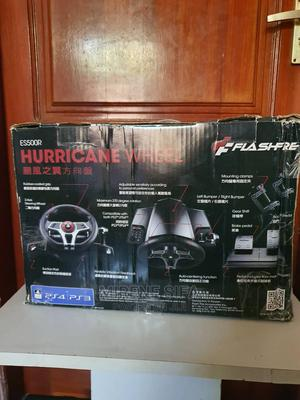 Hurricane Racing Wheel for Playstation 4 3 | Video Games for sale in Dar es Salaam, Kinondoni