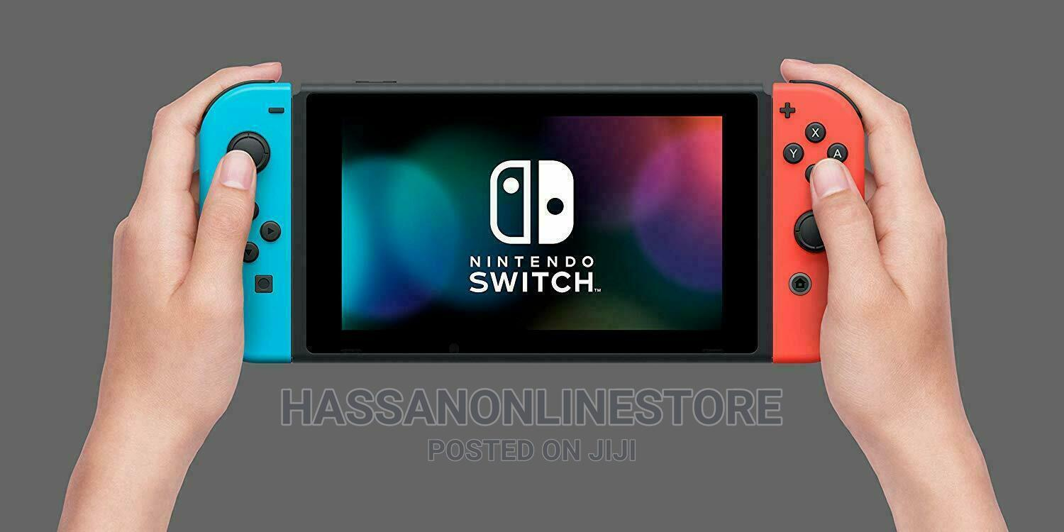 Nintendo Switch With Neon Red and Neon Blue Joy-Con | Video Game Consoles for sale in Ilala, Dar es Salaam, Tanzania