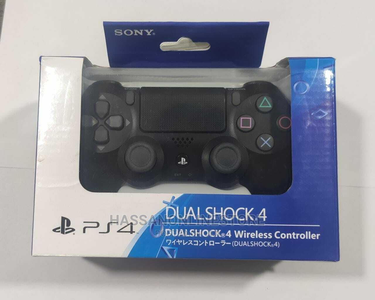 Playstation 4 Dualshock 4 Wireless Controller - Jet Black