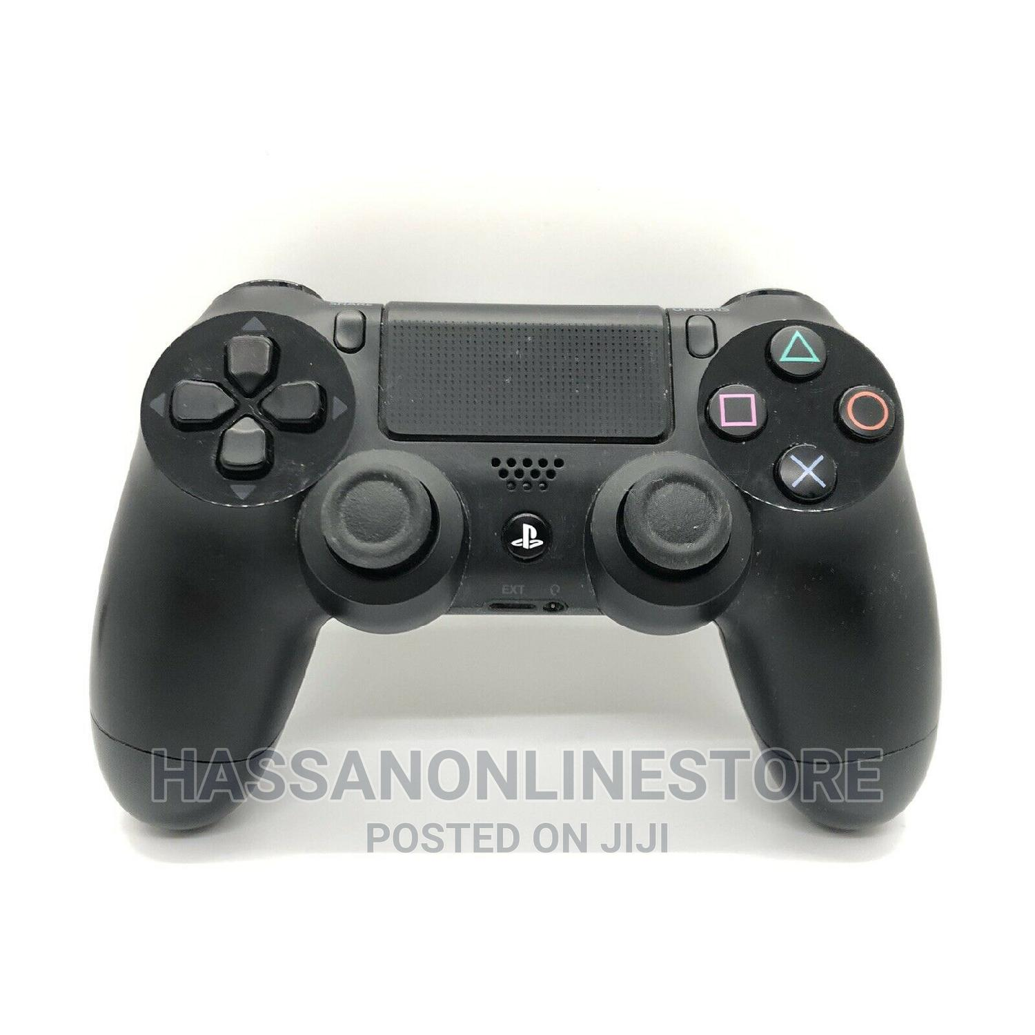 Playstation 4 Dualshock 4 Wireless Controller - Jet Black | Video Game Consoles for sale in Ilala, Dar es Salaam, Tanzania