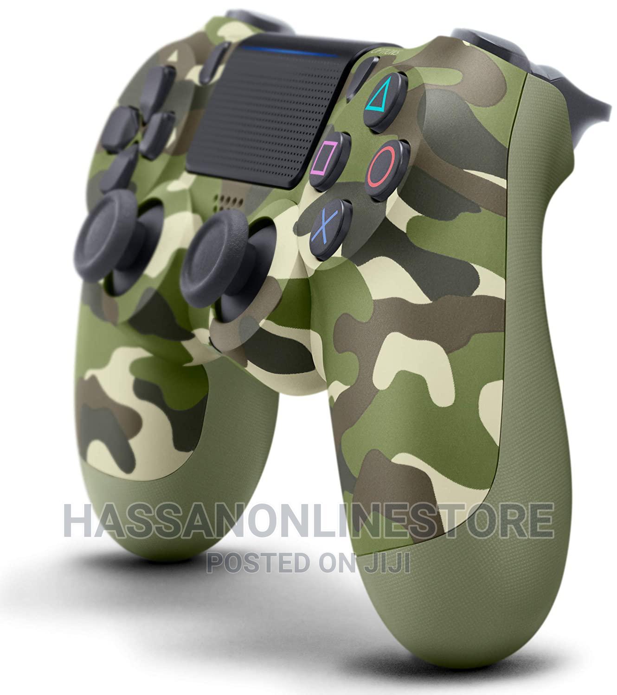 Playstation 4 Dualshock 4 Controller (Green Camo) | Video Game Consoles for sale in Ilala, Dar es Salaam, Tanzania
