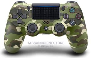 Playstation 4 Dualshock 4 Controller (Green Camo) | Video Game Consoles for sale in Dar es Salaam, Ilala