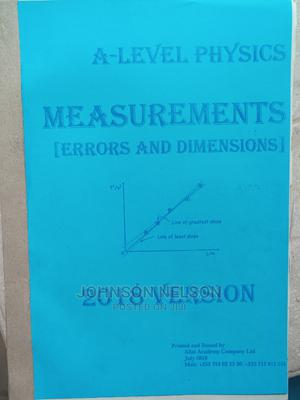Measurements by Ally Ab   Books & Games for sale in Tabora Region, Tabora Urban