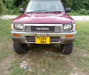 Toyota Hilux 1997 Red   Cars for sale in Dar es Salaam, Kinondoni