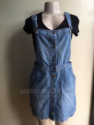 Overall Jeans Skirt | Clothing for sale in Morogoro Region, Morogoro Rural