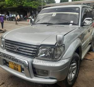 Toyota Land Cruiser Prado 2001 Silver | Cars for sale in Dar es Salaam, Kinondoni