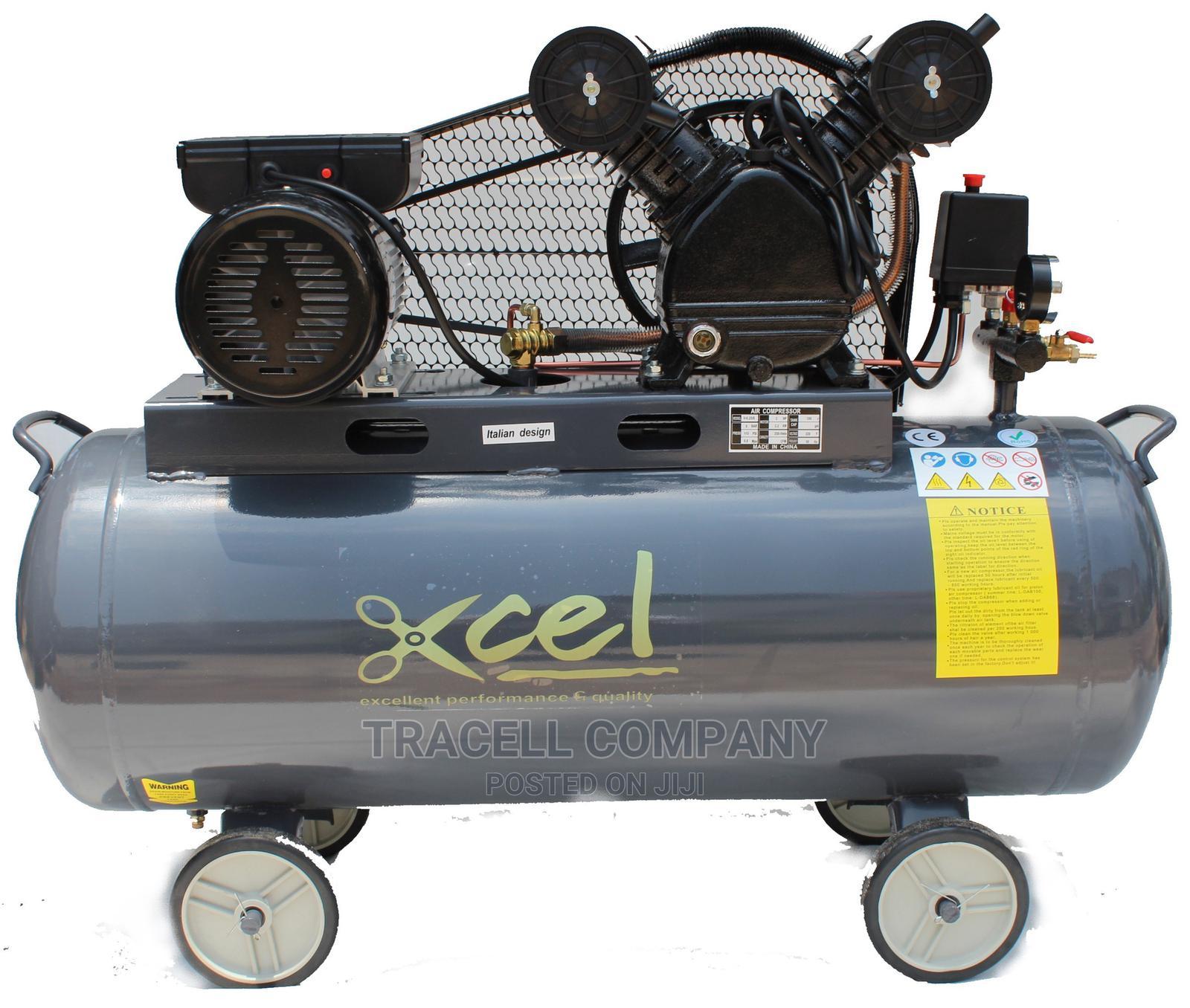 Xcel Air Compressor - 100lts (Electrical)